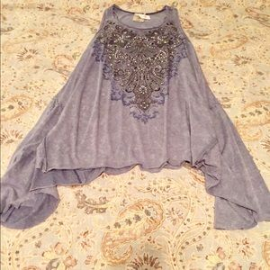 ❤️NWT.ABSOLUTELY GORGEOUS Tunic w/ Bling by Vocal